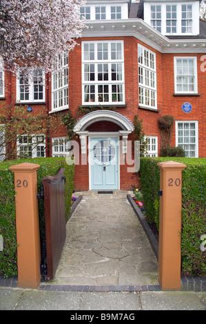 Freud museum Hampsted London England - Stock Photo
