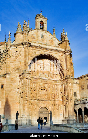 Spain, Castile-Leon, Salamanca, classified as World Heritage by UNESCO, the Convent San Esteban - Stock Photo