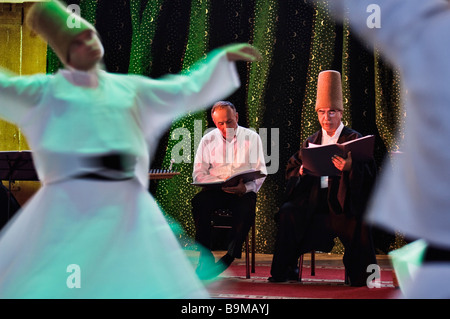 Turkey, Istanbul, Galata Mevlevi convent, whirling dervishes - Stock Photo