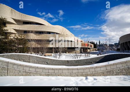 Canada quebec province gatineau city bal de neige for Museum of civilization quebec city