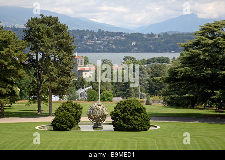 The Ariana park in front of the Palace of Nations, Geneva, Switzerland - Stock Photo