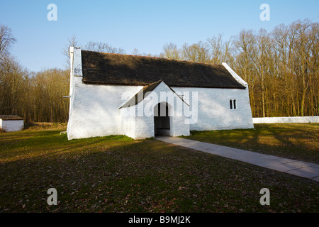 St Teilo's Church, St Fagans National History Museum, St Fagans, Wales, UK