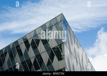 Emporio Armani building on Deansgate Manchester city centre UK - Stock Photo