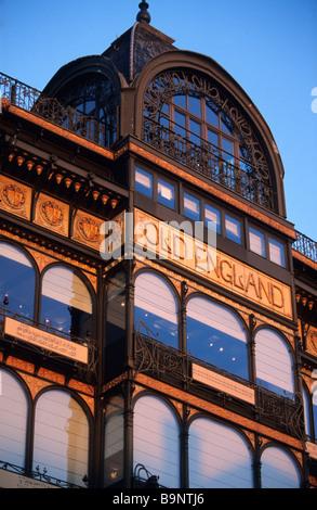 Belgium, Brussels, Musee des instruments de musique (Musical Instruments Museum) - Stock Photo