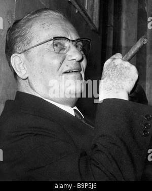 Josip Broz Tito - Stock Photo