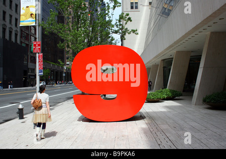 Ivan Chermayeff's Red Nine - Stock Photo