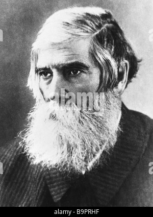 Vladimir Bekhterev 1857 1927 Russian neuropathologist and psychiatrist - Stock Photo