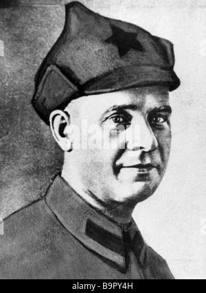 Ernst Thalmann a prominent world and German communist leader - Stock Photo