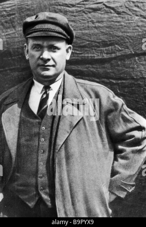 Ernst Thalmann a leader of the German and international communist movement 1886 1944 - Stock Photo