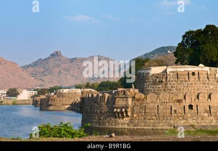 Vellore Fort Tamil Nadu India - Stock Photo
