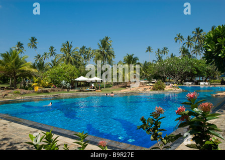 Bentota Beach Hotel, Bentota Beach, Sri Lanka - Stock Photo