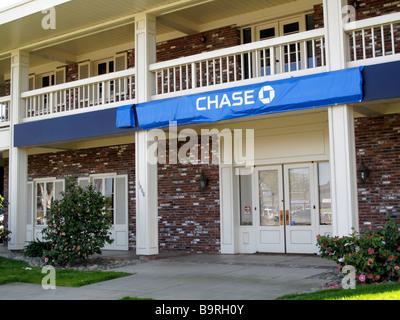 Chase Bank in San Jose California USA formerly Washington Mutual Bank - Stock Photo