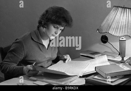 Soviet space pilot Valentina Tereshkova - Stock Photo