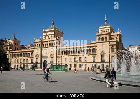 Academia de Caballeria Valladolid Castilla Leon España Academy of Caballeria Valladolid Castilla Leon Spain - Stock Photo