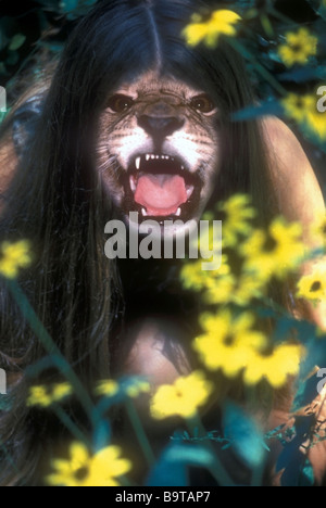 Jungle Woman - Stock Photo