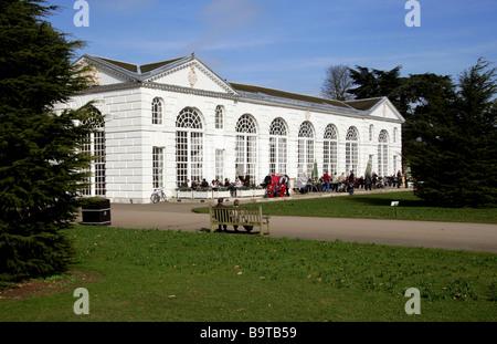 The Orangery, Royal Botanic Gardens, Kew, Richmond, Surrey, England, Britain, UK - Stock Photo