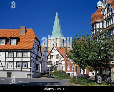 city of Enningerloh district of Warendorf North Rhine Westfalia Germany - Stock Photo