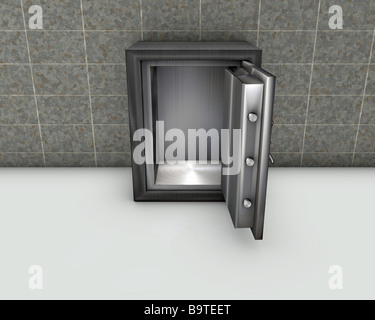 Empty safe - Stock Photo