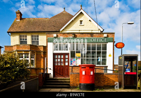 Village post office in Pewsey, Wiltshire, England, UK - Stock Photo