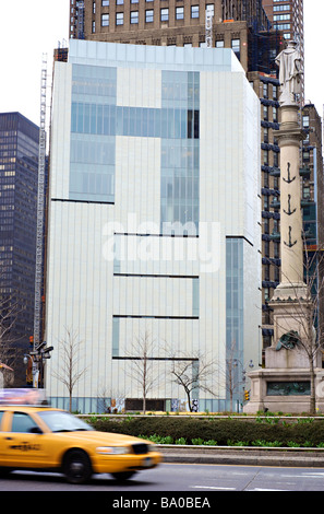 The Museum of Arts and Design at 2 Columbus Circle, designed by Allied Works Architecture (For Editorial Use Only) - Stock Photo