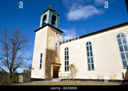 Brevik Church (Lidingo) - Stock Photo