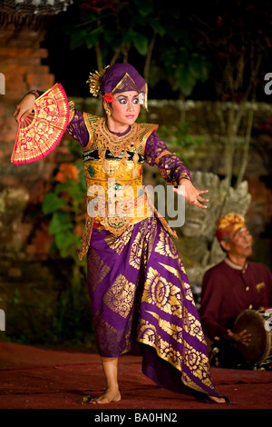 Legong Dancer - Bali, Indonesia (Peliatan Masters) - Stock Photo