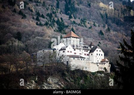 The princely castle of Vaduz, Liechtenstein - Stock Photo