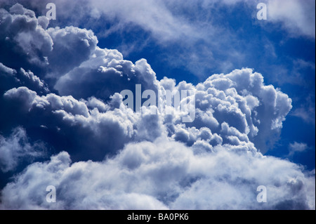 Large cumulus clouds - Stock Photo
