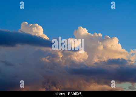 Afternoon rain clouds - Stock Photo