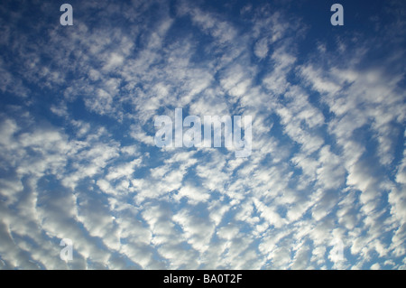 Cloud patterns - Stock Photo