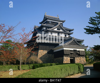 Matsue Castle at Shimane Prefecture in Japan - Stock Photo