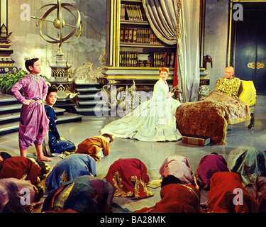 THE KING AND I  1956 TCF film with Yul Brynner and Deborah Kerr - Stock Photo