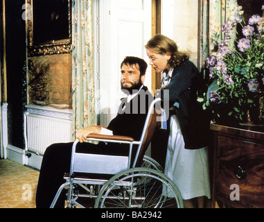 MY LEFT FOOT 1989 Palace film with Daniel Day-Lewis and Brenda Fricker - Stock Photo