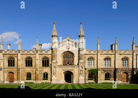 Corpus Christi College, Cambridge, England UK - Stock Photo