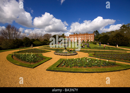 Hughendon Manor buckinghamshire chilterns - Stock Photo