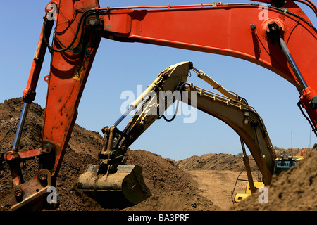 Excavating - Stock Photo