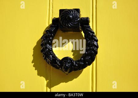 Door knocker, Sheet Street, Windsor, Berkshire, England, United Kingdom - Stock Photo