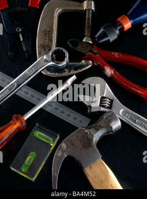 assorted tools - Stock Photo