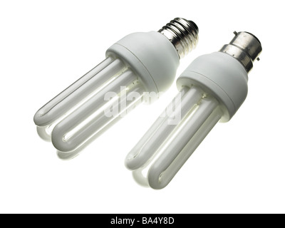 low energy light bulbs - Stock Photo
