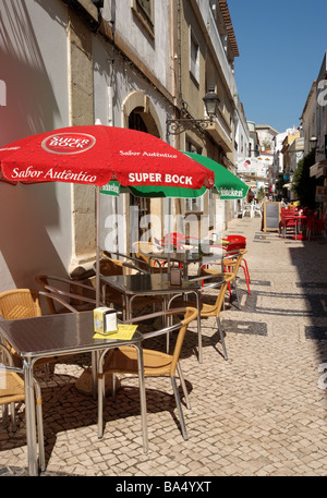 SILVES ON THE ALGARVE IN PORTUGAL. EUROPE - Stock Photo