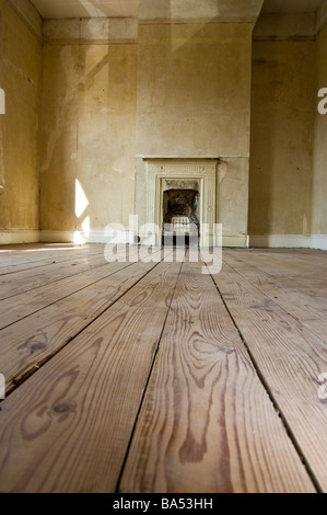 A renovation project in a Victorian house - Stock Photo