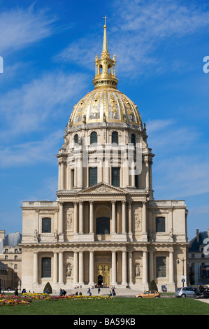 Eglise du Dôme Les Invalides Paris France - Stock Photo