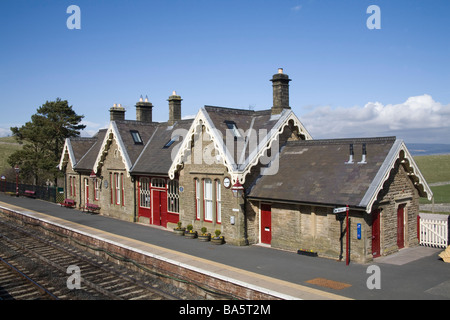 Kirkby Stephen Railway Station Cumbria England UK March one of the stations on the Settle to Carlisle line - Stock Photo