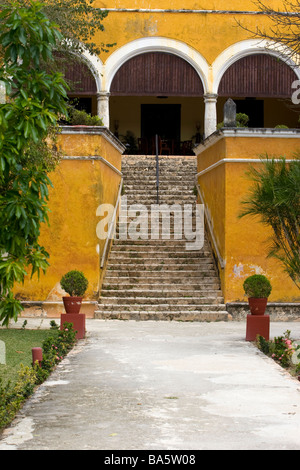 Hacienda Uyamon in Mexico - Stock Photo
