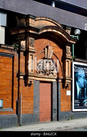 Former doorway at Snow Hill Station, Birmingham, England, UK - Stock Photo