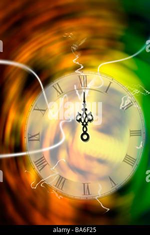 Illusion of time - Stock Photo