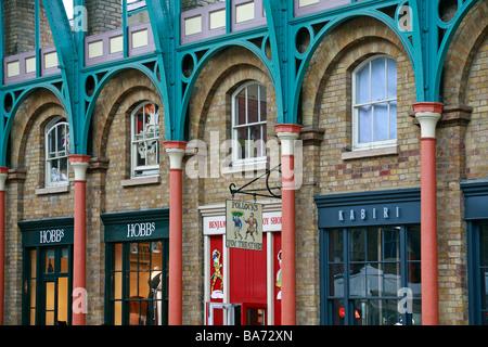 Detail inside Covent Garden market, London, England, UK. - Stock Photo