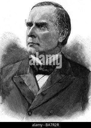 President William McKinley 1897 Stock Photo, Royalty Free ...