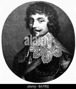 Frederick V, 16.8.1596 - 21.9.1632, Elector Palatinate 19.9.1610 - 23.2.1623 and King of Bohemia 25.10.1619 - 9.11.1620, - Stock Photo