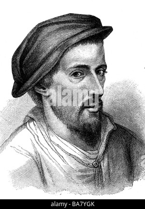 Howard, Henry, 1517 - 21.1.1547, Earl of Surrey, brit. author / writer, portrait, after engraving by F. Bartolozzi, - Stock Photo
